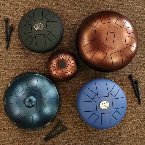 Steel Tongue Drums