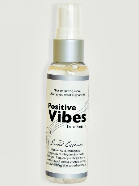 Positive Vibes Spray - Attracting the things you want into your life and raising your energetic levels so the law of attraction works for you with improved efficiency!