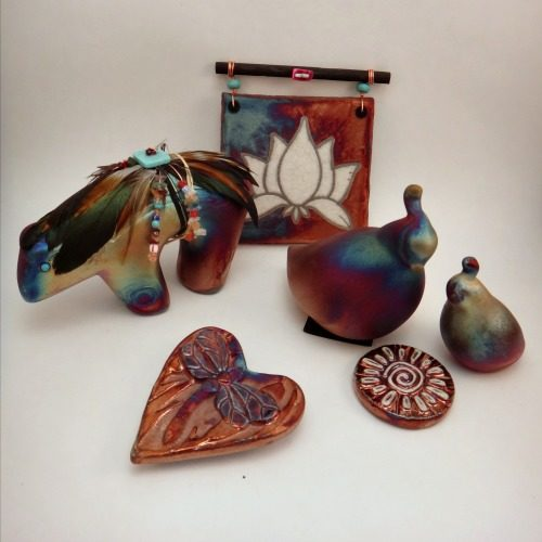 Raku Pottery | Ceramic Art | Spiritual Keepsakes by Jeremy Diller