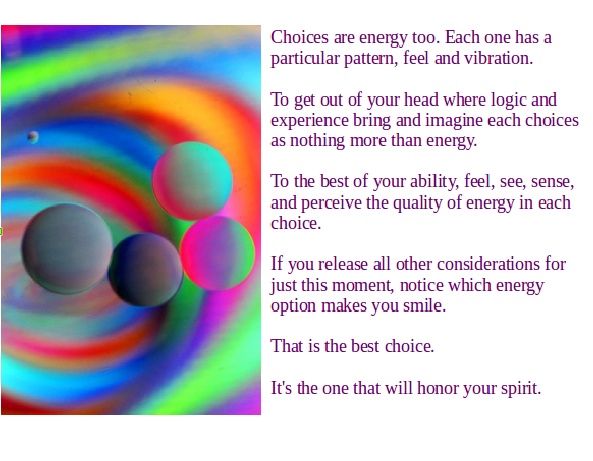 choices-are-energy