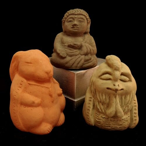 Meditating Animal Statues by Zen Creation