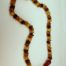 Amber tablet teething necklace