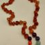 amber chakra teething necklace