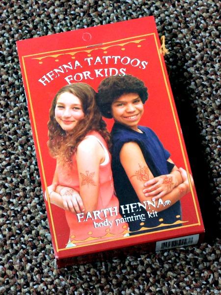 Henna Tattoo Kits For Kids: Henna Tattoos For Kids Body Painting Kit