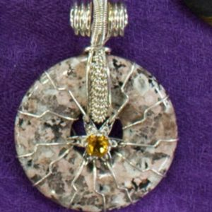 flower of life granite citrine