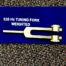 528 hz weighted tuning fork gold
