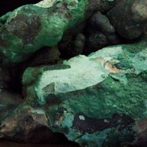 raw malachite