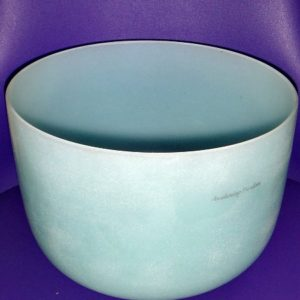 Turquoise Crystal Bowl