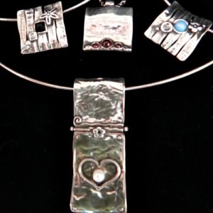 Isreali Silver Necklaces
